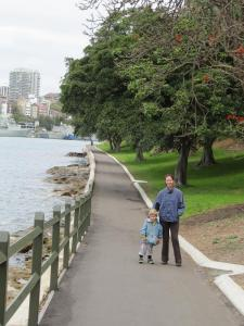 סידני - Mrs Macquarie Chair