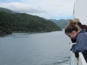 ניו זילנד - שייט בין האי הצפוני לדרומי
