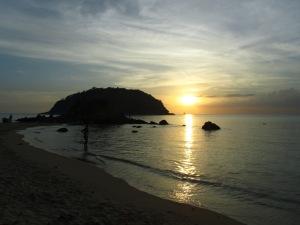 שקיעה בפוקט תאילנד