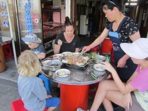 ארוחת ערב קוריאנית
