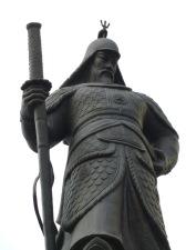 Statue of Admiral Yi Sun-shin